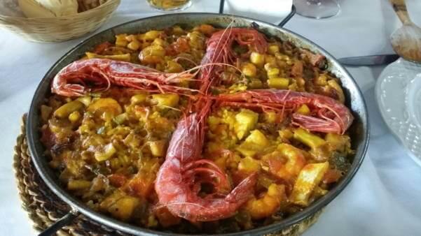 Restaurante El Faro - Paella